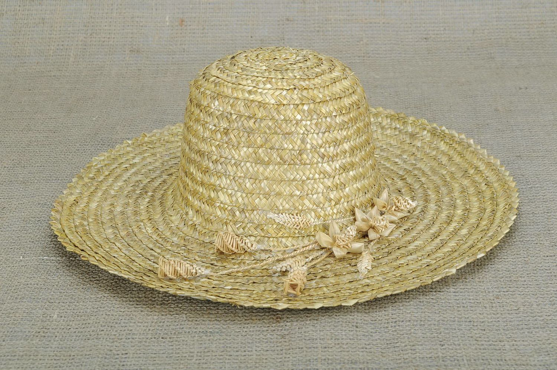 headwear Women's hat with braided flowers - MADEheart.com
