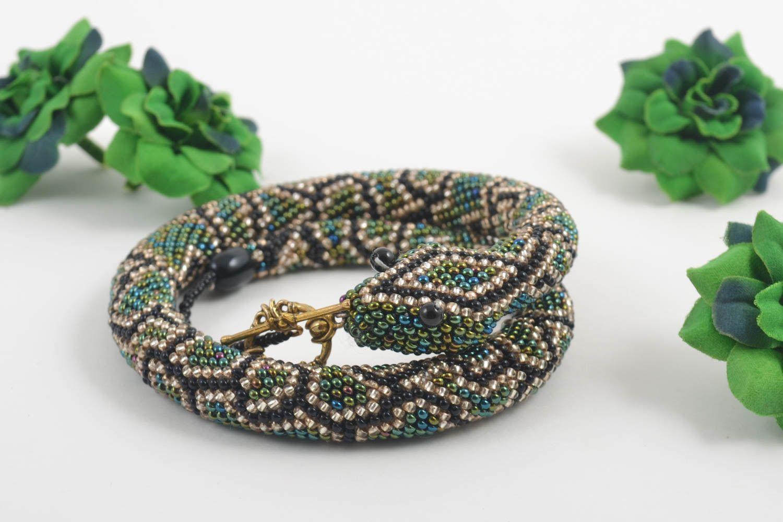 Браслет ручной работы браслет из бисера модная бижутерия браслет на руку фото 1