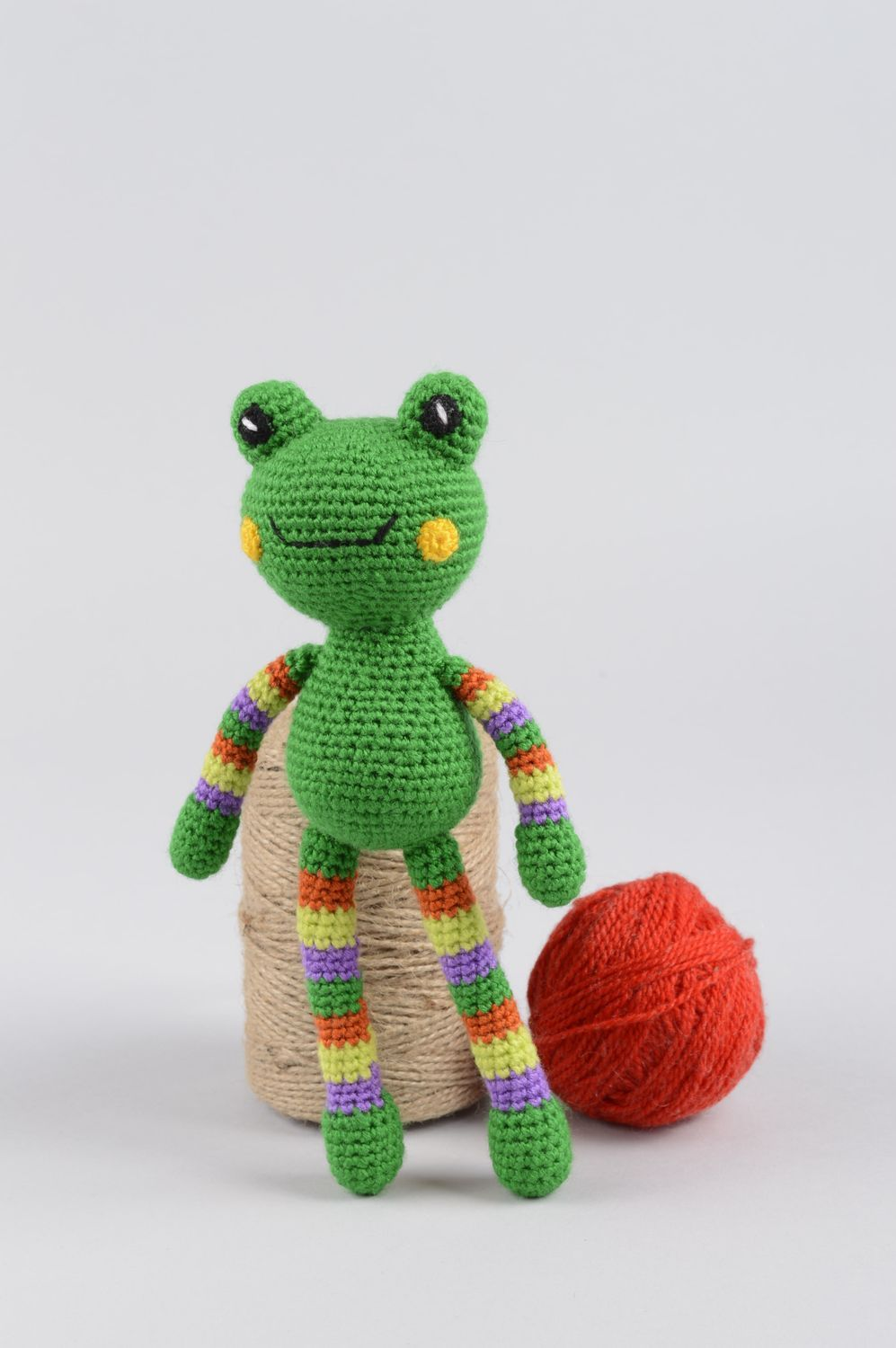 knitted toys Unusual handmade crochet toy childrens toys stuffed soft toy gifts for kids - MADEheart