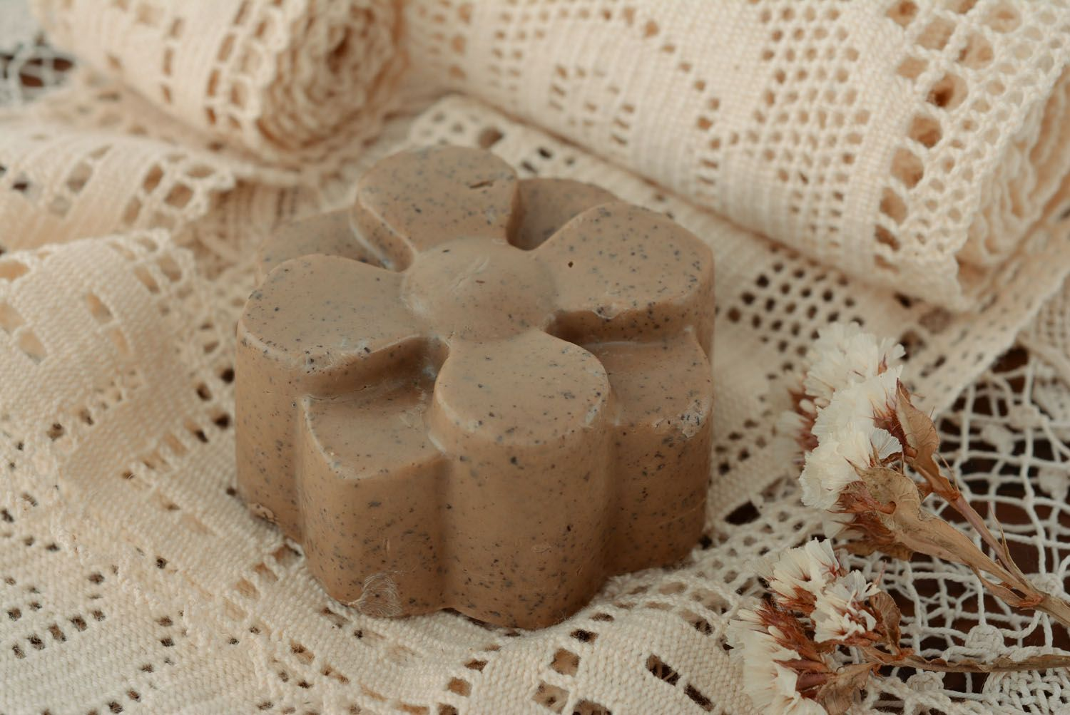 Natural soap Coffee Flower photo 1
