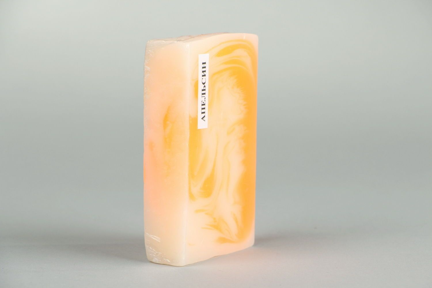 Handmade soap with the scent of oranges photo 3