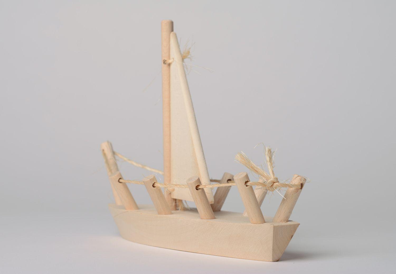 Игрушечные кораблики из дерева своими руками 63