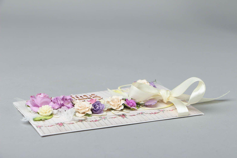Beautiful wedding card photo 2