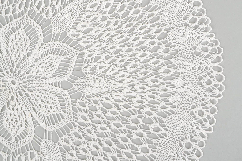 Handmade knitted table napkin crocheted napkin home decor designer  tablecloth