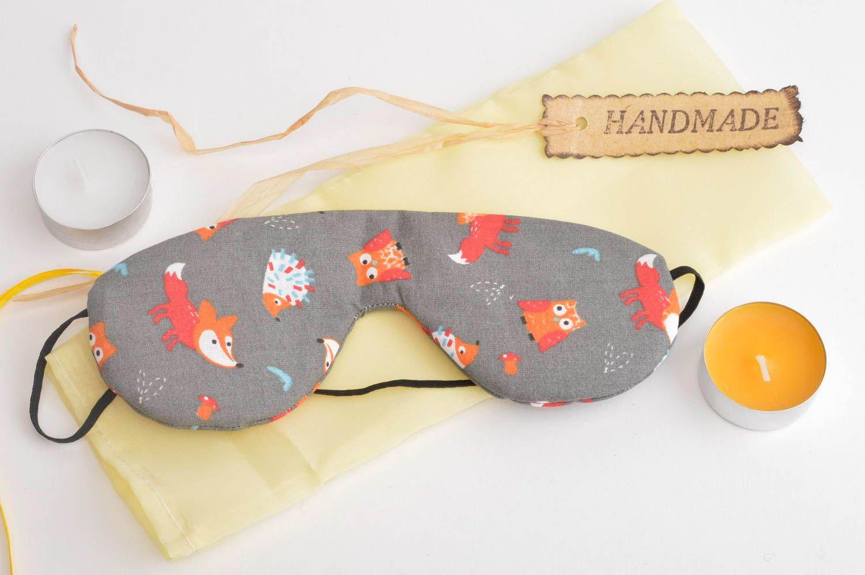 madeheart masque de sommeil fait main bandeau yeux masque pour dormir accessoire sommeil. Black Bedroom Furniture Sets. Home Design Ideas
