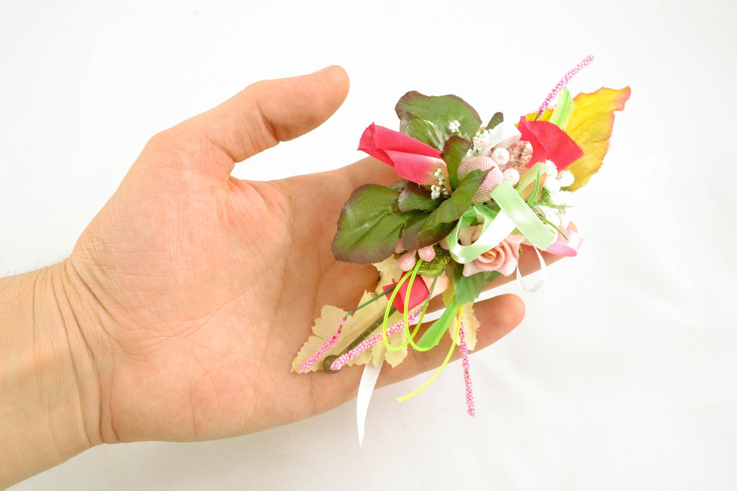 Boutonniere for Easter basket photo 3