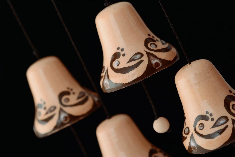Interior decorative ceramic bells photo 3
