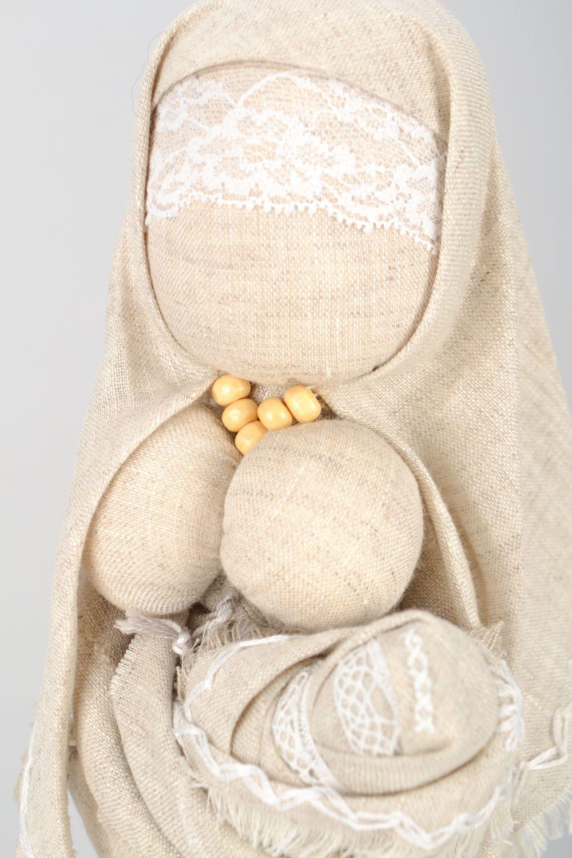 Homemade ethnic motanka doll Stolbushka photo 4