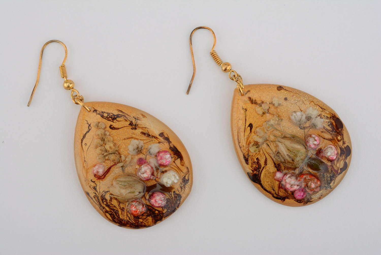 drop earrings Long drop earrings