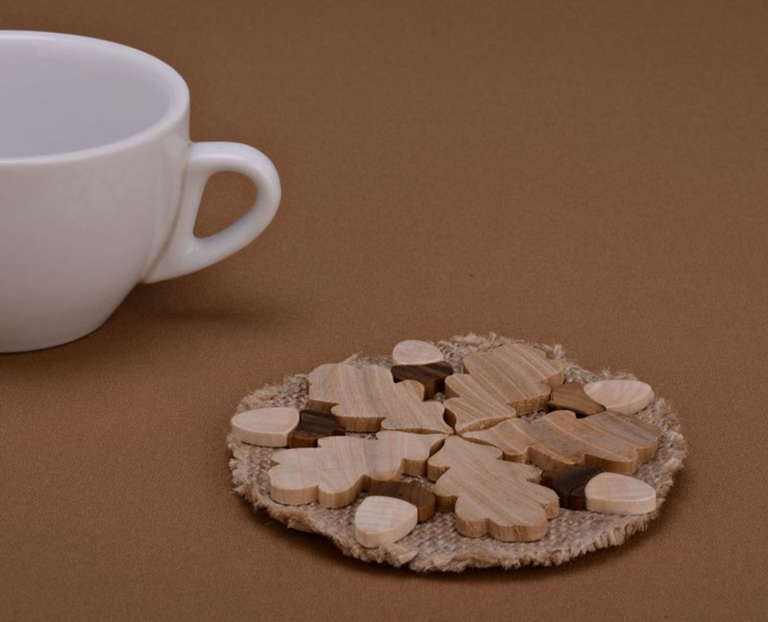 Large coaster for hot dishes photo 1