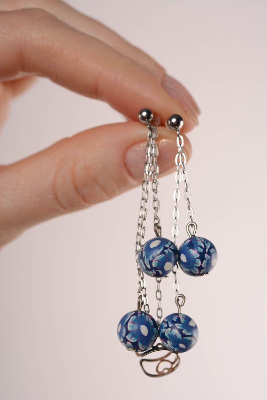 Tender cuff earrings Blue Horizon photo 4