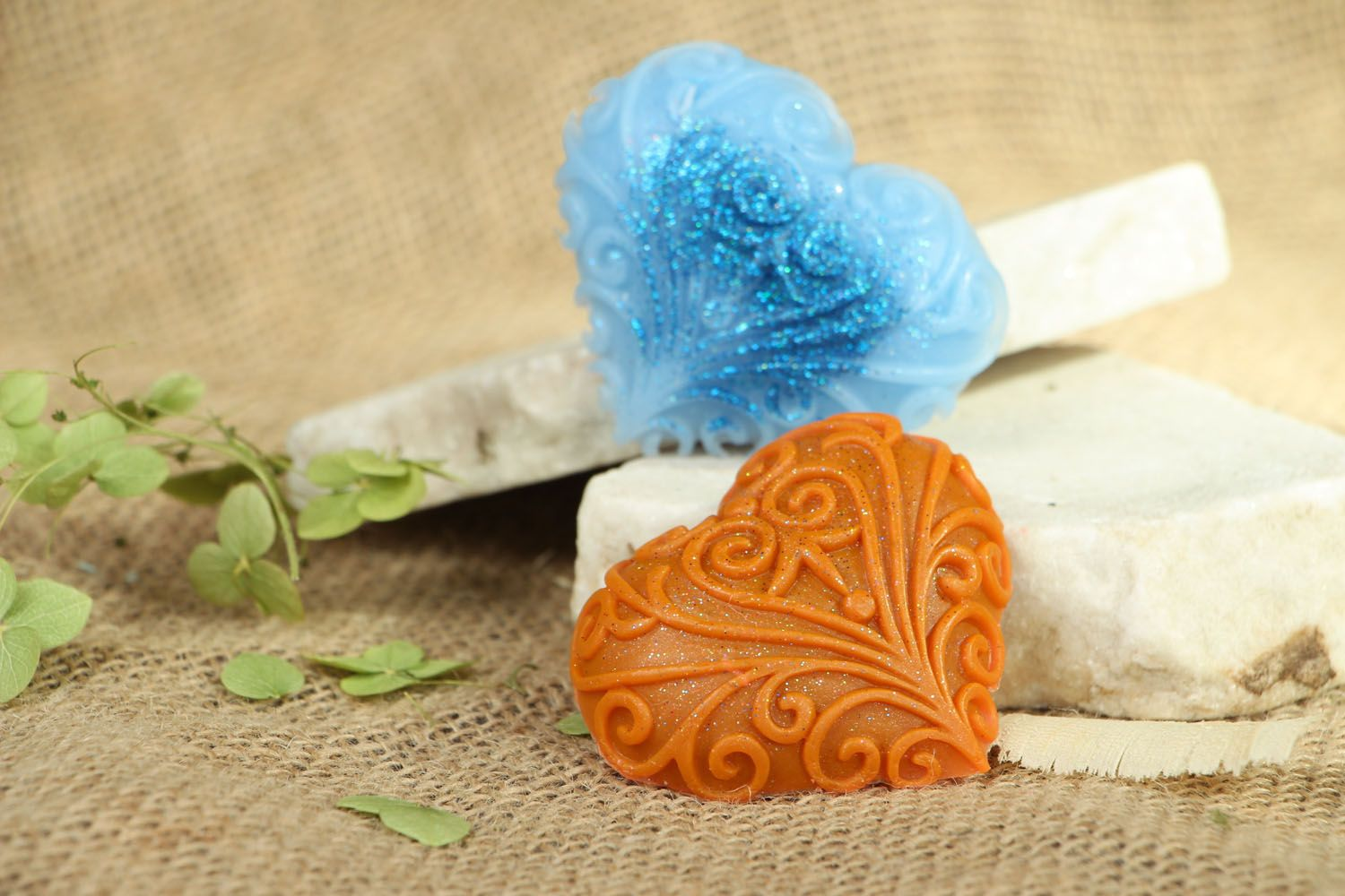 Natural soap Lacy Heart photo 4