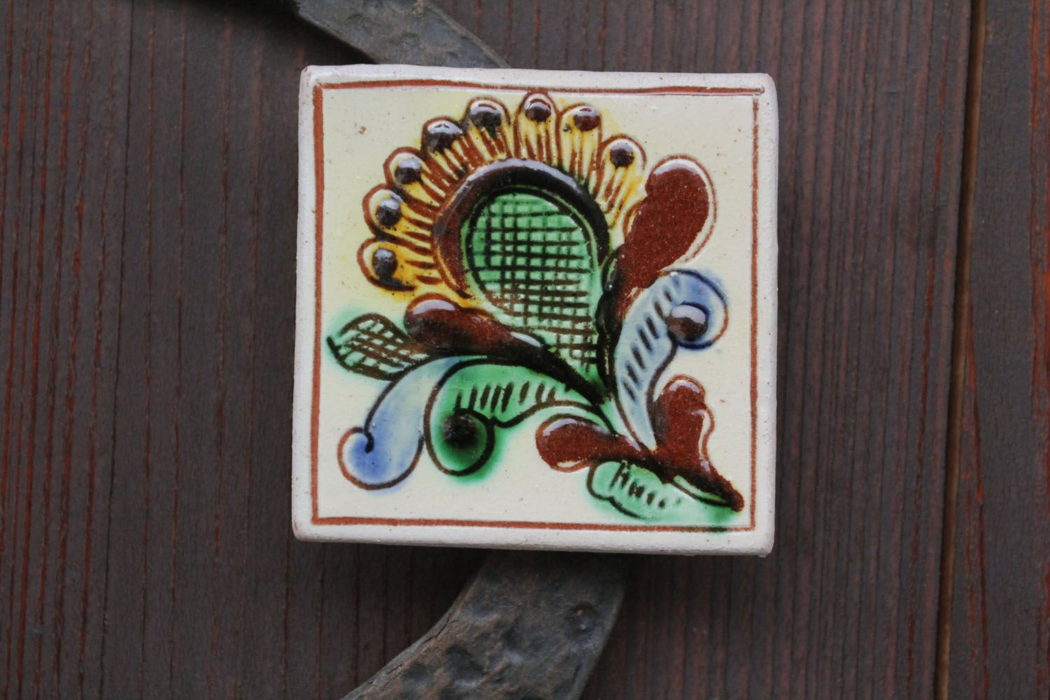 Ceramic fridge magnet photo 1