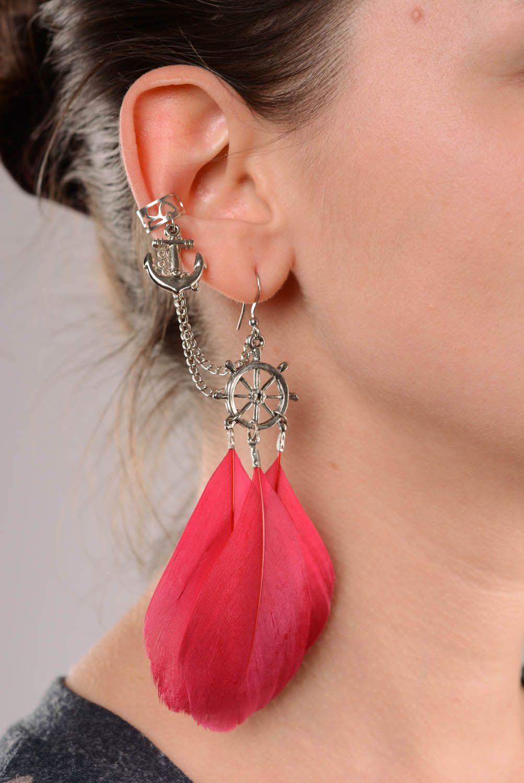 Cuff earrings Light Breeze photo 3