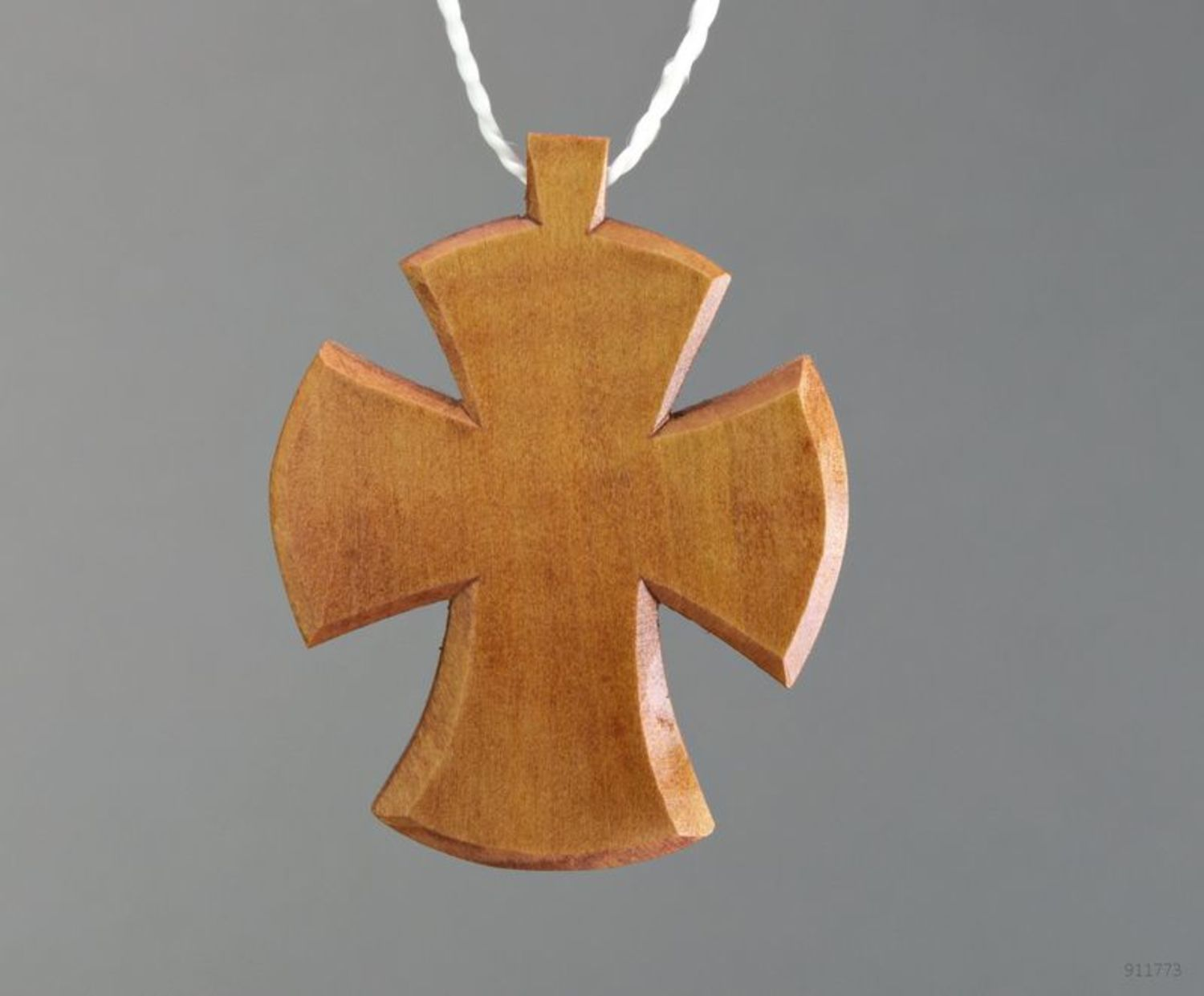 Wooden pectoral cross photo 3