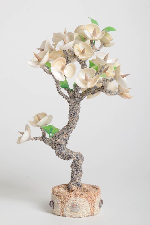 Handmade tree with flowers artificial tree decoration tree handmade gift photo 2