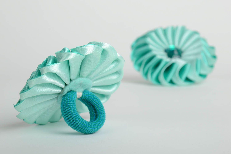 Как сделать резинку для волос своими руками из атласных лент