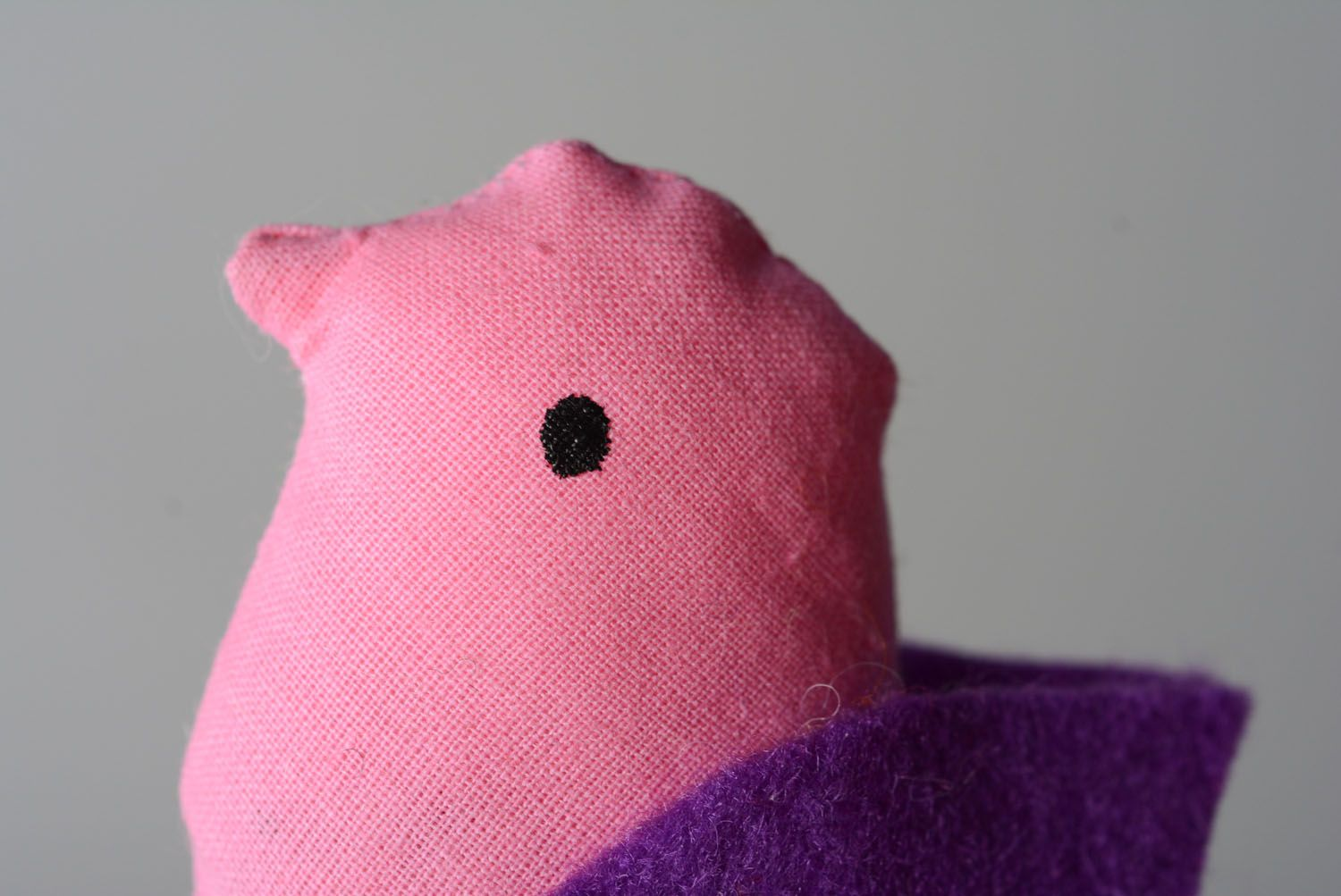 Soft toy in the shape of bird photo 2