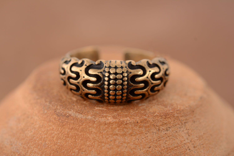 Bronze ring Scandinavia photo 1