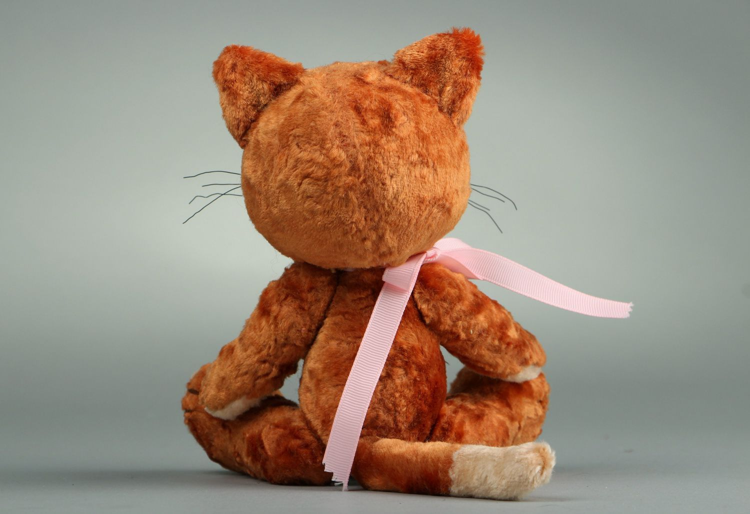 teddy bears Vintage plush cat made using Teddy technique - MADEheart.com