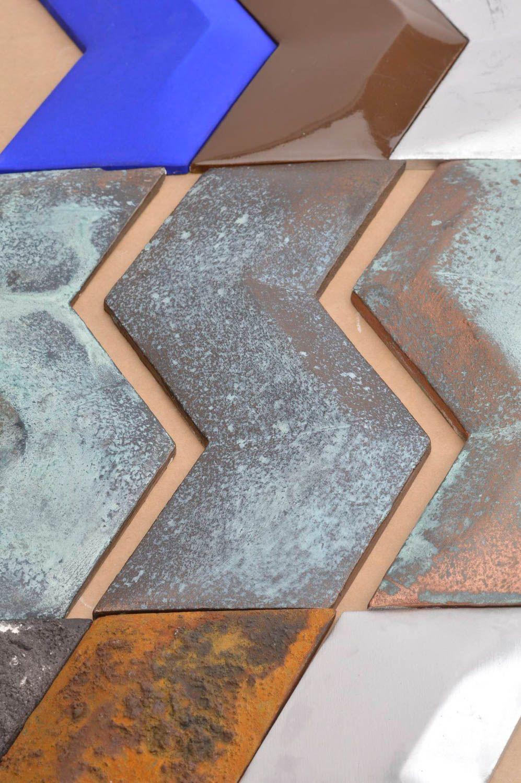 Homemade plaster wall panel mosaic wall tiles mosaic art wall decorating  ideas