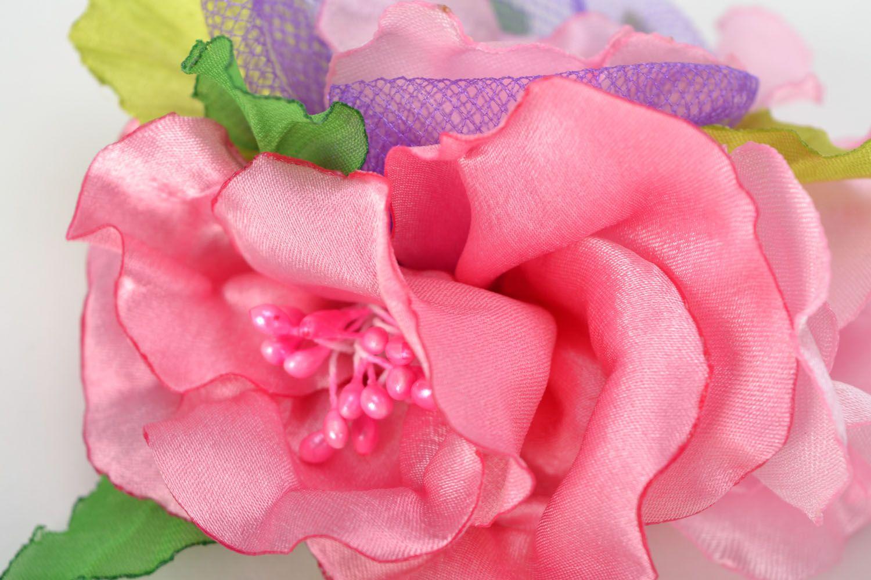 Brooch-hair pin Pink Dream photo 3