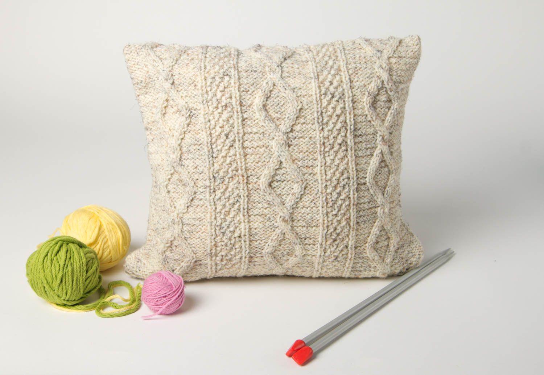 Textilien Und Teppiche Gemustertes Deko Kissen Handmade Wohn Accessoire Wohnzimmer  Deko Mit Kissenbezug   MADEheart.