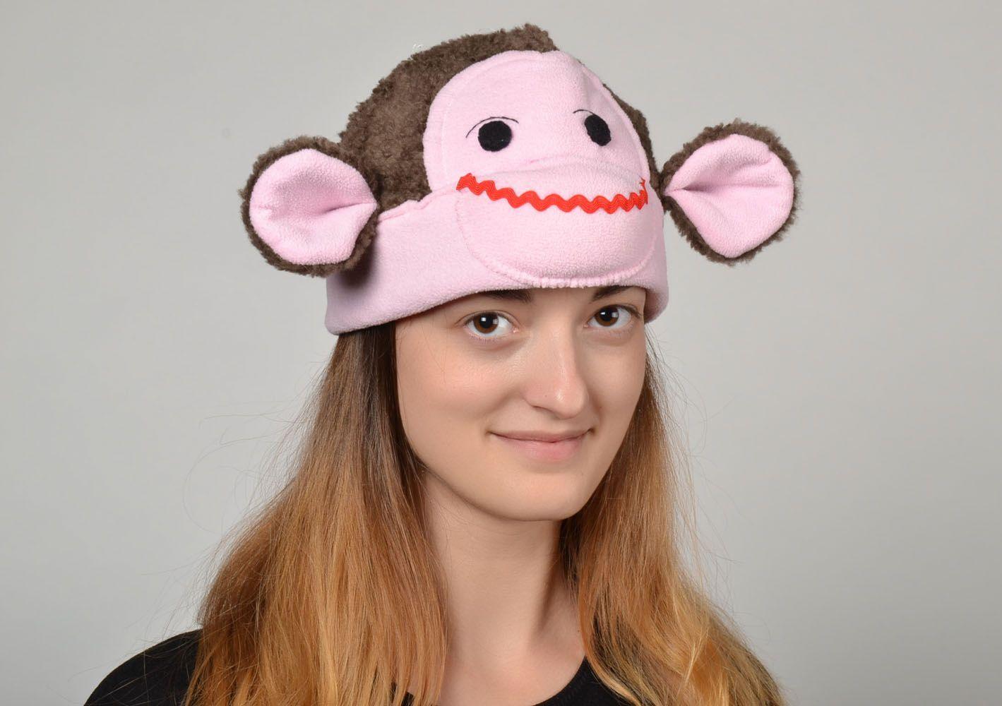 Unusual children's hat Monkey photo 2