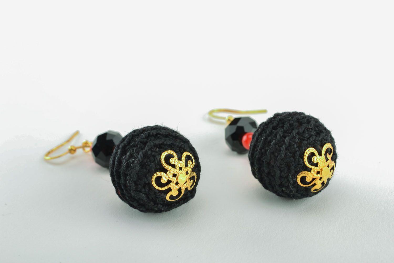 Lange Ohrringe handgemacht foto 2