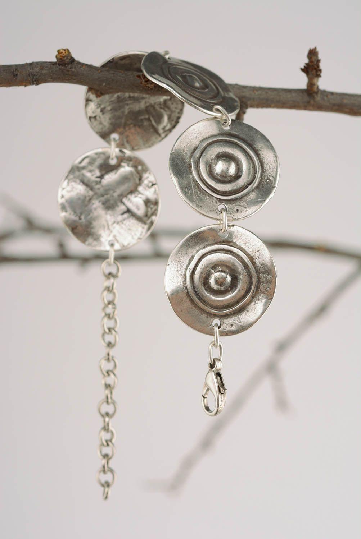Металлический браслет Тарелочки фото 4