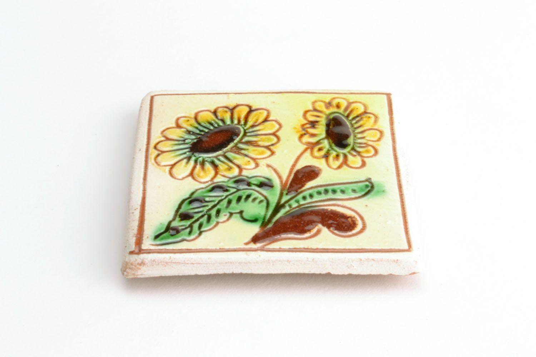 Fridge magnet Sunflowers photo 4
