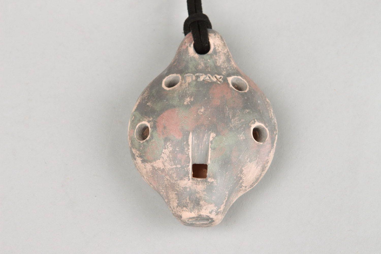 Ceramic musical instrument and children's toy photo 4