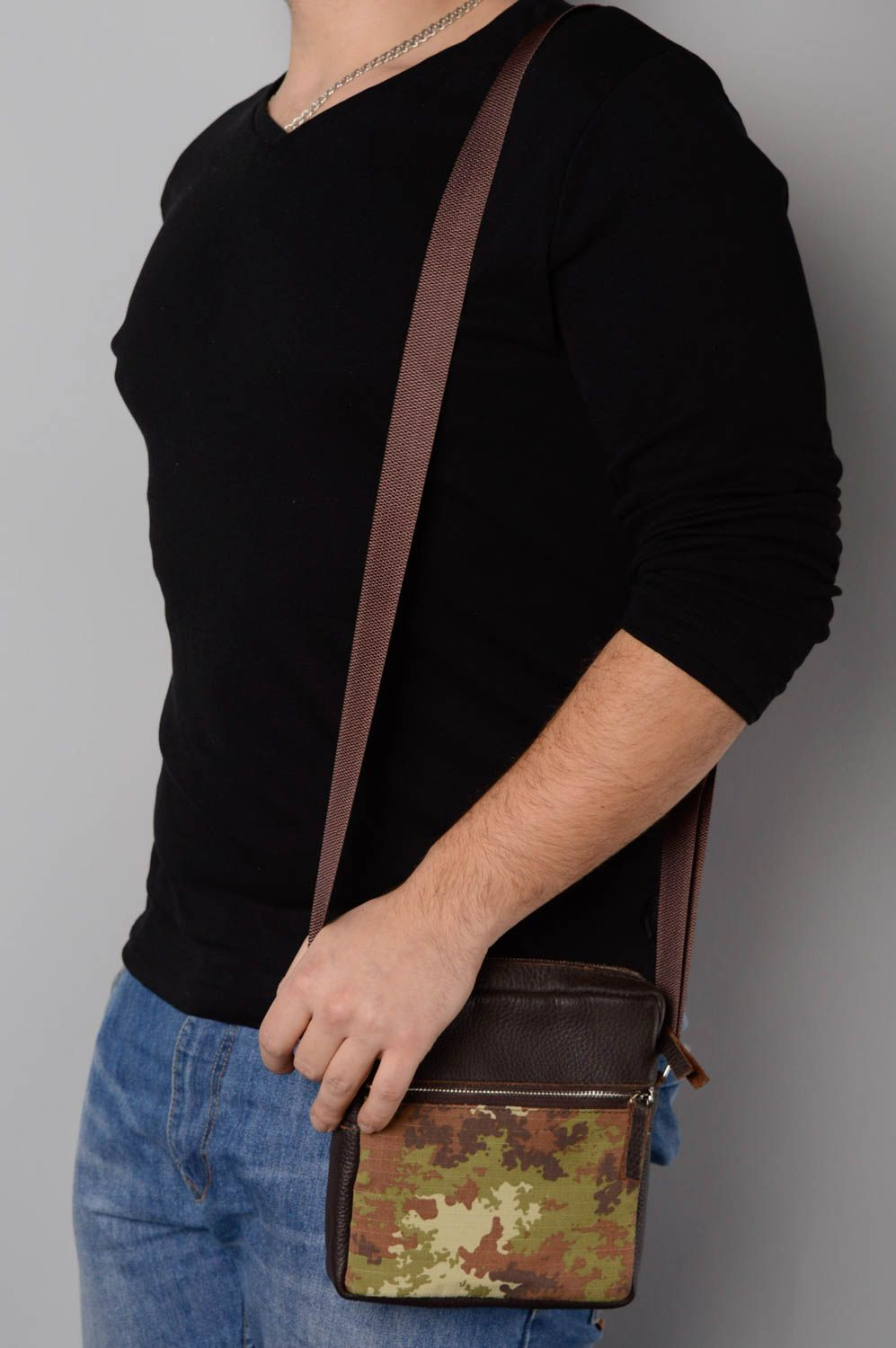 Men's Bags Men's shoulder bag - MADEheart.com