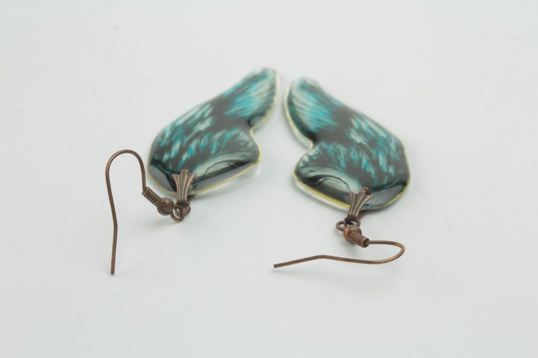 Earrings Wings of Angel photo 3