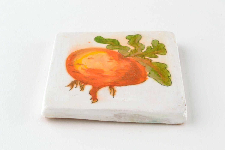 Homemade ceramic fridge magnet photo 4
