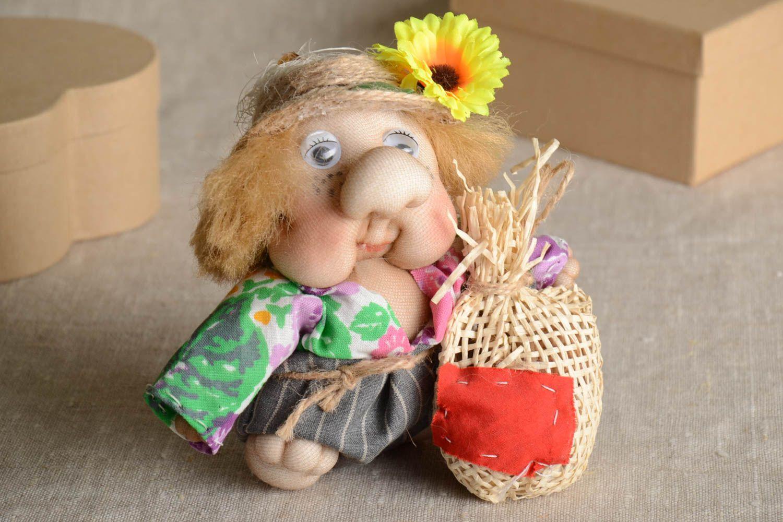 Stylish handmade soft toy interior decorating stuffed toy rag doll gift ideas photo 1