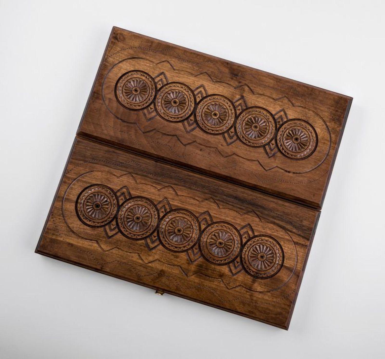 Wooden backgammon photo 3