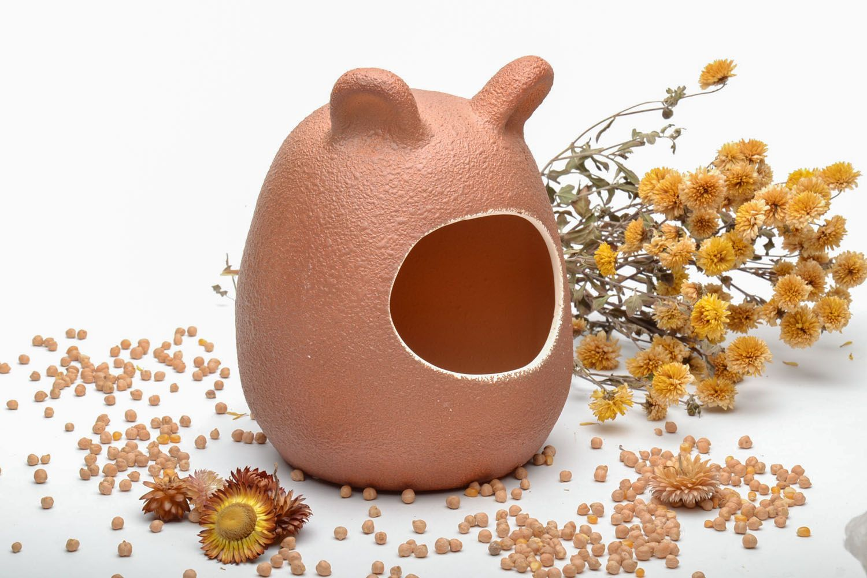Ceramic bath for chinchilla photo 1
