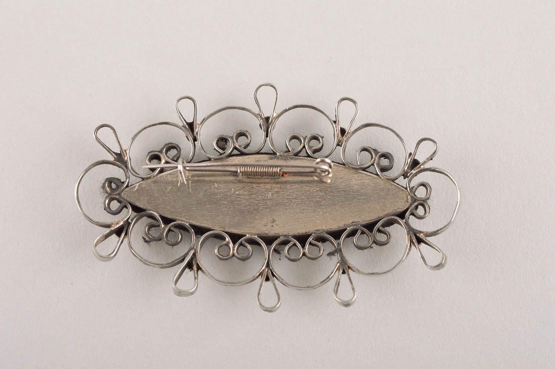 Handmade metal brooch stylish jewelry fashion brooch vintage brooch for women photo 4
