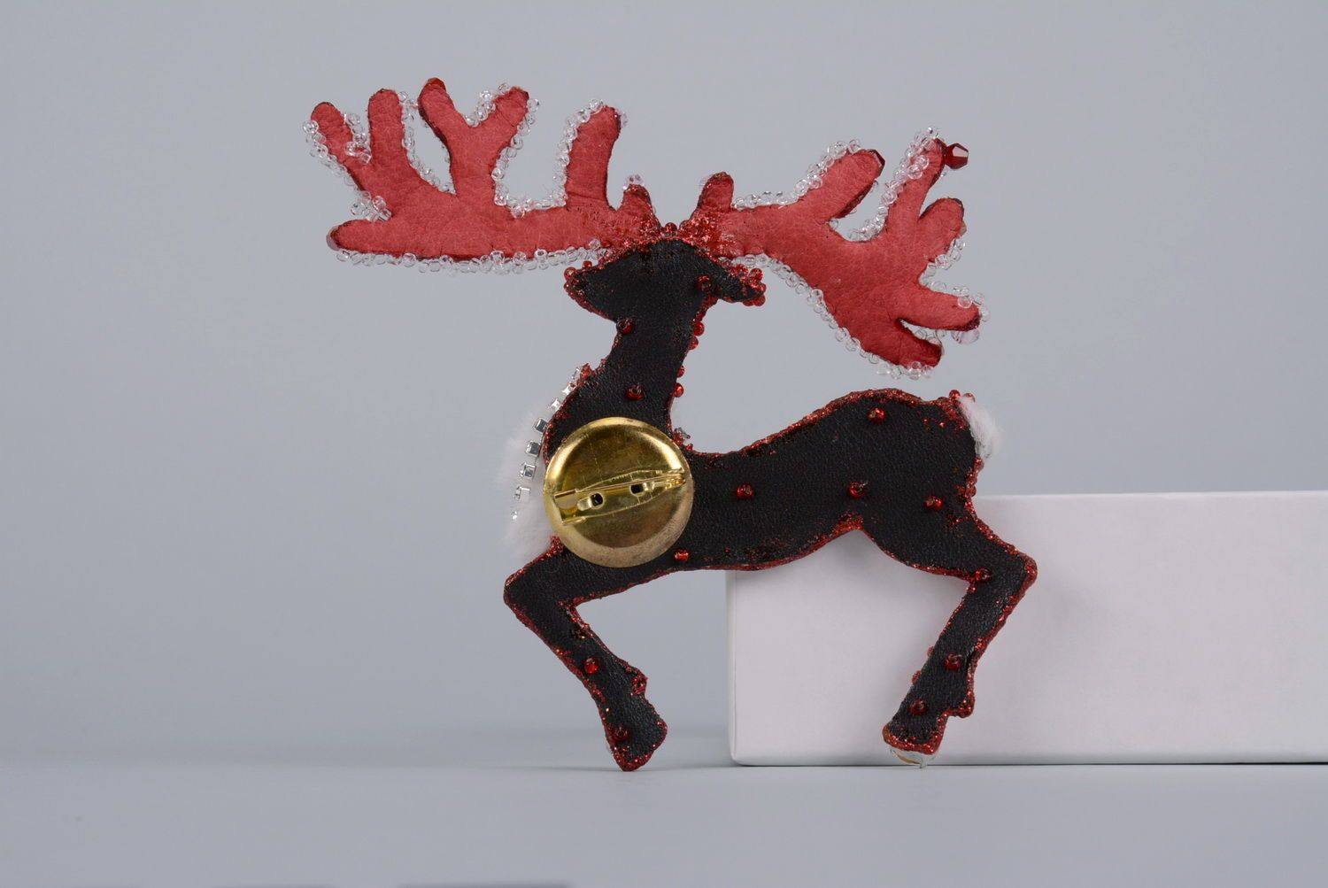 Brooch Reindeer photo 2