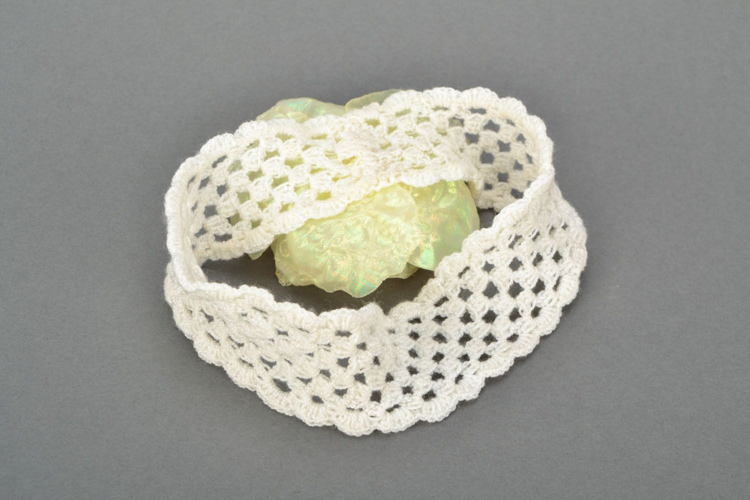 Lace stretch head band photo 5