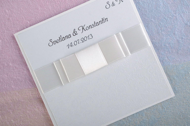wedding accessories Wedding invitation - MADEheart.com