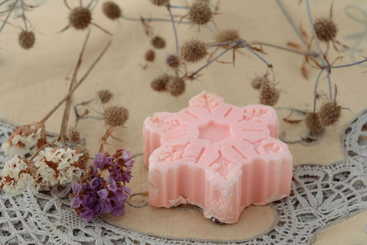 Natural soap with barberry photo 4