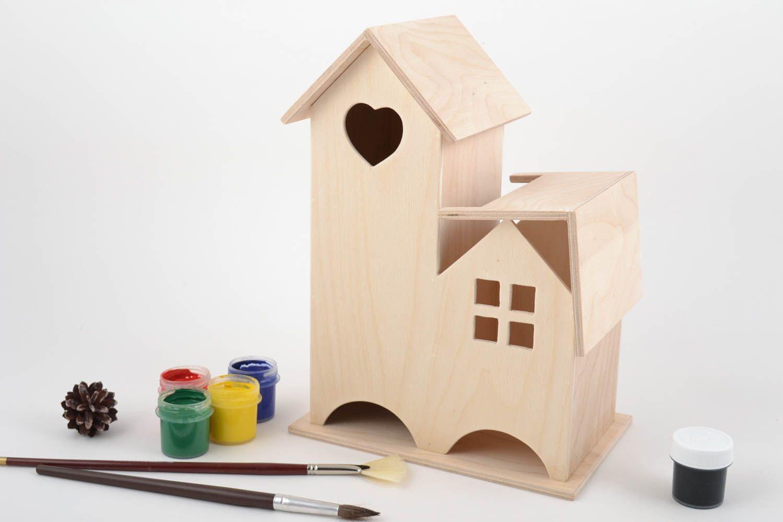 Material para manualidades caja de contrachapado para pintar original 283998522 BUY HANDMADE