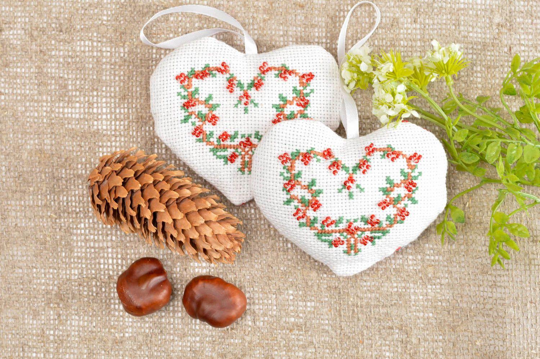 Handmade designer cute sachet aromatized hangings 2 soft toys for home photo 1