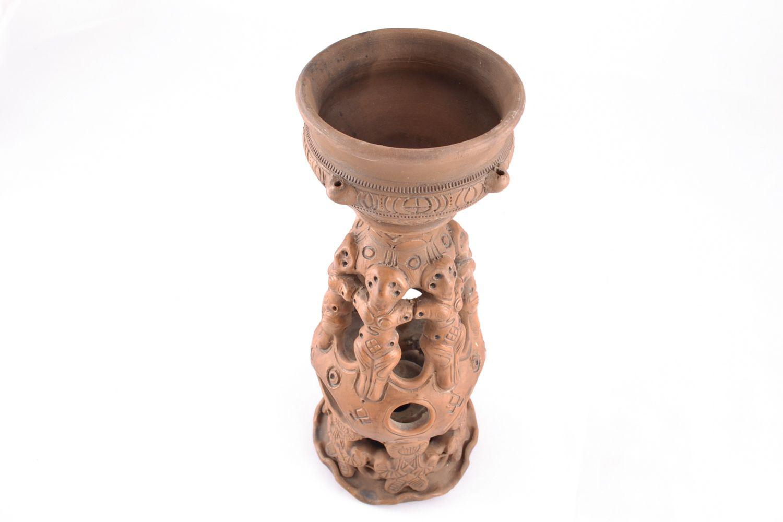 Handmade ceramic aroma lamp photo 4