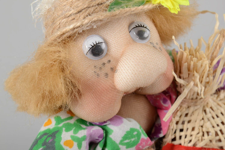 Stylish handmade soft toy interior decorating stuffed toy rag doll gift ideas photo 3