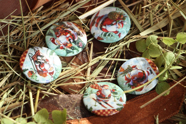 Set of Christmas badges photo 4