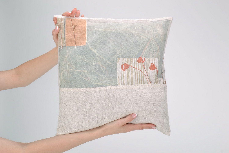 Herbal pillow in a cotton pillowcase photo 5
