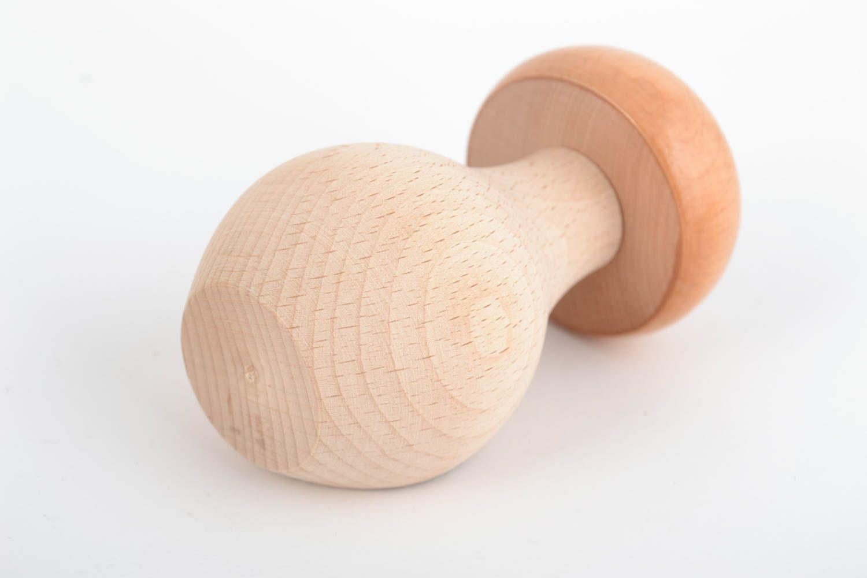 NutCracker Wooden Mushroom Handmade Natural Wood